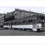 #1937-38 in S.Milw.suburban serviceSB on N.Plankinton @ W.St.Paul Avs.