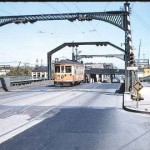 #844 on KK River bridge, Aug, 1956